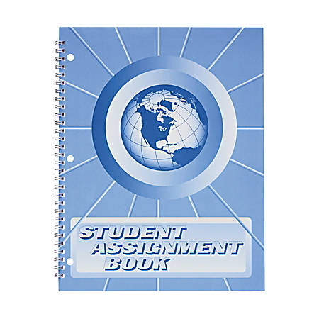 "Hubbard Ward 40-Week Student Assignment Book, 8 1/2"" x 11"", Purple"