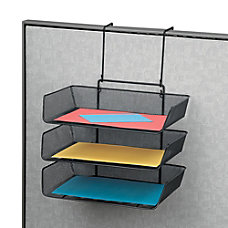 Fellowes Partitions Additions Triple Tray Black