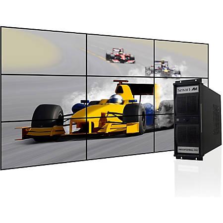 SmartAVI PresenterWall Digital Signage Appliance, Intel® Processor, 2GB Memory, 120GB Hard Drive, VW-09XAS