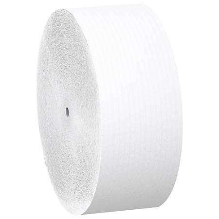 """Scott® JRT Jr. FSC Certified 2-Ply Coreless Bathroom Tissue Jumbo Rolls , 3 7/8"""" x 1,150', Case Of 12 Rolls"""