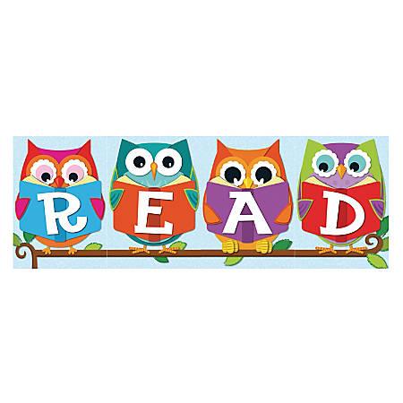 """Carson-Dellosa Bulletin Board Set, """"Whooo"""" Loves Reading?, Grades Pre-K - 5"""