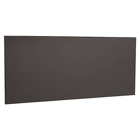 "WorkPro® Modular Flipper Door Kit, For 48"" Stack On Hutch, Charcoal"