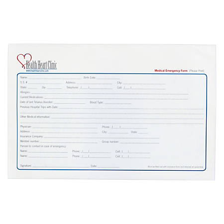 "Custom Carbonless Business Forms, Create Your Own, Full Color, 8-1/2"" x 5-1/2"", 2-Part, Box Of 250"