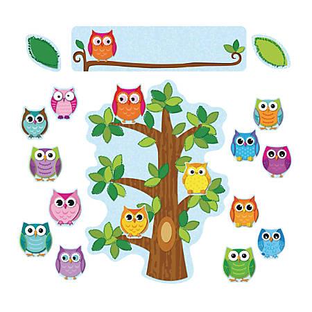 Carson-Dellosa Bulletin Board Set, Colorful Owls Behavior, Grades Pre-K - 5