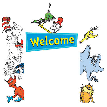 Eureka Welcome Go-Arounds® Accents, Dr. Seuss™, Multicolor, Pre-K - Grade 8, Pack Of 7