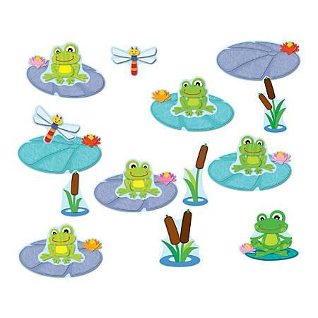 Carson-Dellosa Bulletin Board Set FUNky Frogs Job Assignment Grades PK - 5