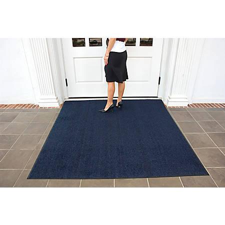 Brush Hog Floor Mat, 4' x 6', Navy Brush