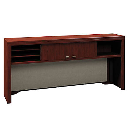 "Bush Business Furniture Enterprise Hutch, 60""W, Harvest Cherry, Standard Delivery"