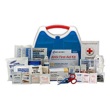 First Aid Only ReadyCare First Aid Kit, Large, White, 238 Pieces