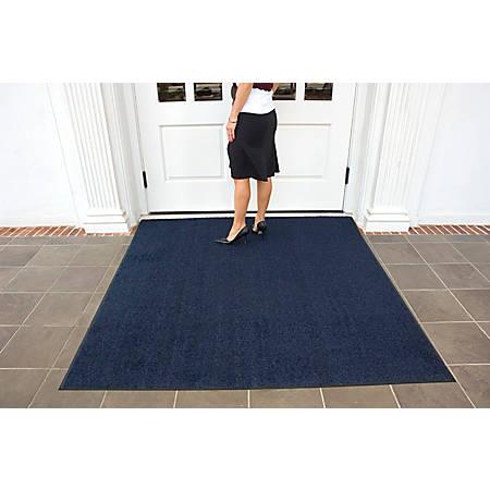 Brush Hog Floor Mat, 4' x 10', Navy Brush