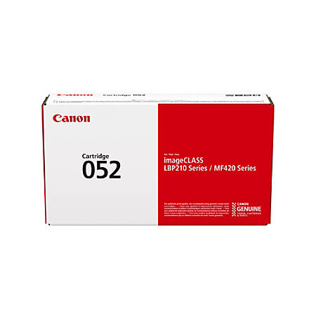 Canon CRG 052 K Black Toner Cartridge (2199C001)