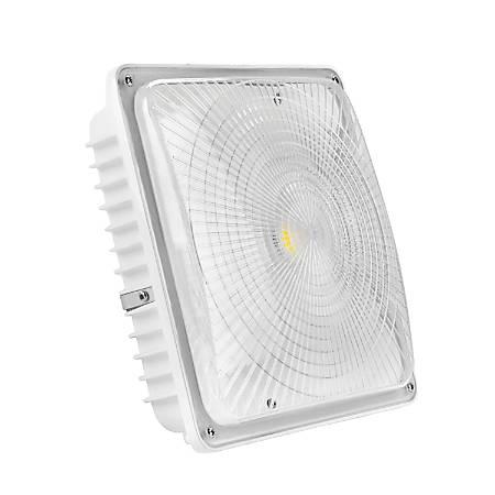 Luminoso LED Canopy Light Fixture, 5,000 Kelvin, 65 Watt, 6,700 Lumens