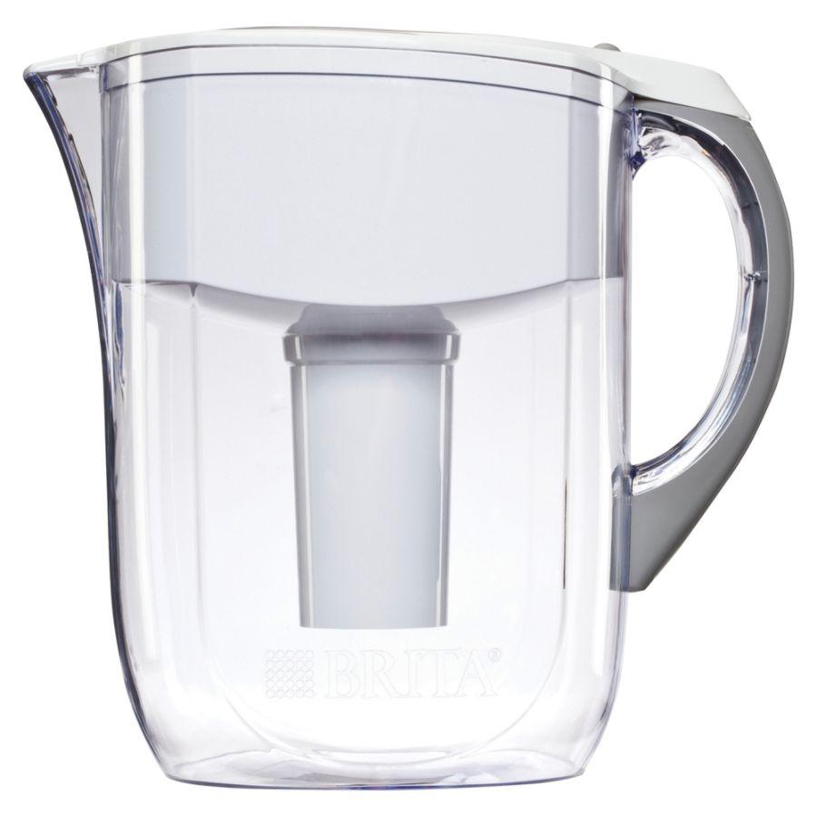 Brita water filter ad Hydration Brita Brita 10 Cup Grand Water Filter Pitcher White Office Depot