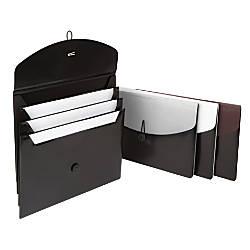 Office Depot Brand 4 Pocket Poly