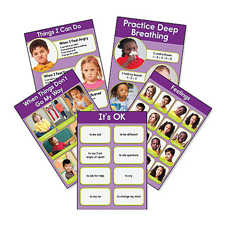 Key Education Feelings Bulletin Board Set, Grades Pre-K - 2
