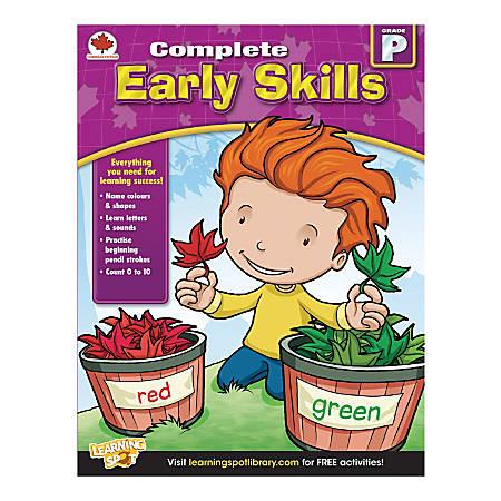 Carson-Dellosa Complete Early Skills Workbook, Grade Pre-K