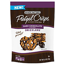 Snyders Snack Factory Pretzel Crisps Dark