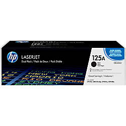 HP 125A Original Toner Cartridge Dual