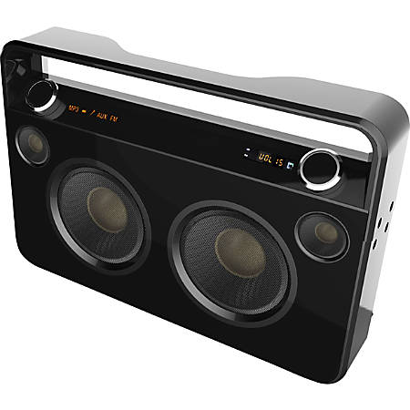 Supersonic 50 W RMS Portable Bluetooth® Speaker System, Black