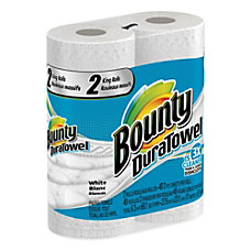 Bounty DuraTowel Paper Towels 2 Ply