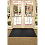 CONDOR Entrance Mat,Charcoal,4x6ft 8GR09