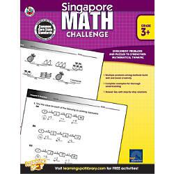 Frank Schaffer Singapore Math Challenge Workbook