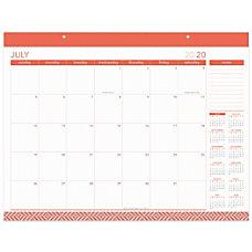 Office Depot Monthly Academic Desk Calendar