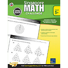Frank Schaffer Singapore Math Challenge Workbook