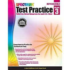Spectrum Test Practice Workbook Grade 3