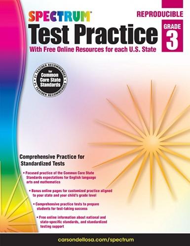 Spectrum Test Practice Workbook, Grade 3 Item # 588233