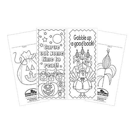 Barker Creek Bookmark Duets, Celebrate Autumn, Pack Of 60