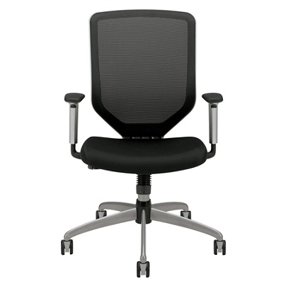 Hon Boda High Back Mesh Task Chair 44 H X 27 34 W X 35 12 D Black By