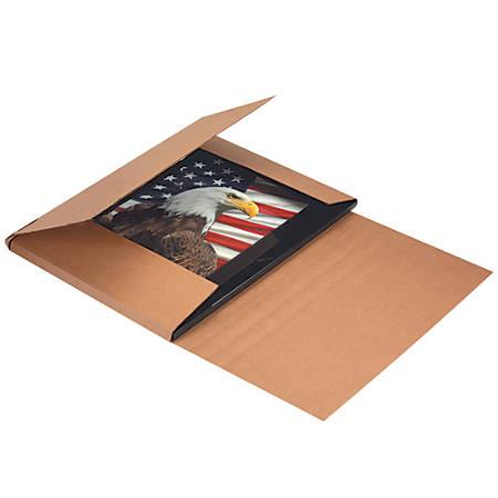 "Office Depot® Brand Jumbo Easy Fold Mailers, 22"" x 18"" x 6"", Kraft, Pack Of 20"