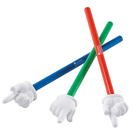 """Learning Resources 15"""" 3-piece Hand Pointers Set - Skill Learning: Social Skills, Cognitive Process, Gross Motor, Life Skill, Thinking"""
