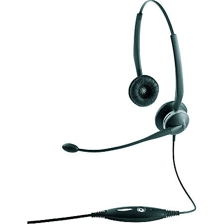 Jabra GN2100 Headset - Mono - Quick Disconnect - Wired - Over-the-head, Behind-the-neck, Over-the-ear - Monaural - Supra-aural - Noise Cancelling Microphone - Noise Canceling