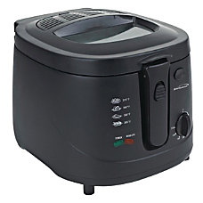Brentwood 25 L Deep Fryer Black