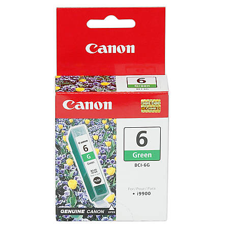 Canon BCI-6 Green Ink Cartridge (9473A003AA)