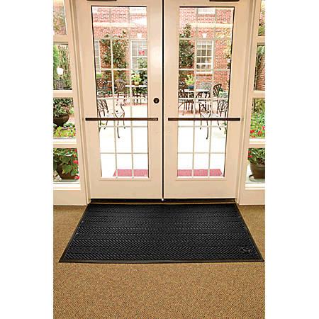 WaterHog Floor Mat, Eco Elite, 6' x 20', Black