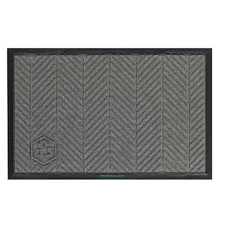 WaterHog Floor Mat, Eco Elite, 4' x 6', Gray Ash