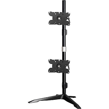 "Amer Dual Monitor Stand Vertical Mount Max 32"" Monitors"