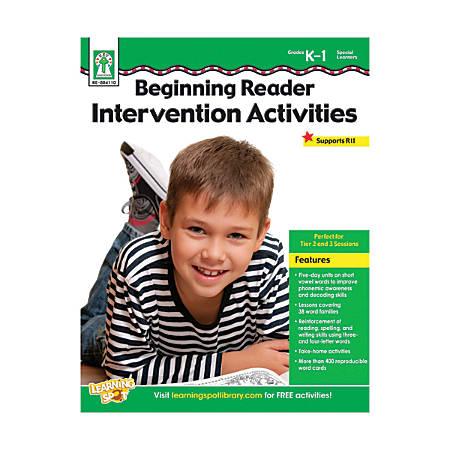 Key Education Beginning Reader Intervention Activities Resource Book, Grades K To 1