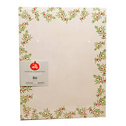 Gartner Studios Stationery Sheets Christmas Pine