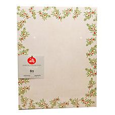 Gartner Studios Stationery Sheets Christmas Pine
