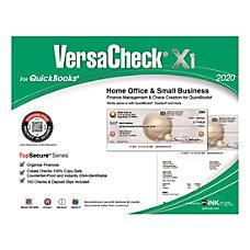VersaCheck X1 2020TopSecure For QuickBooks