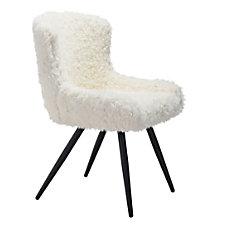 Zuo Modern Coco Dining Chair IvoryBlack