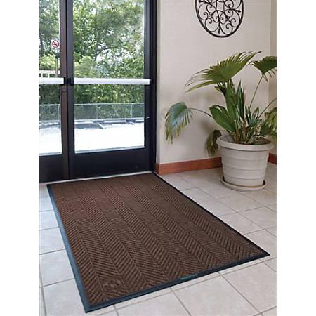 WaterHog Floor Mat, Eco Elite, 3' x 10', Chestnut Brown
