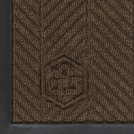 WaterHog Floor Mat, Eco Elite, 6' x 12', Chestnut Brown