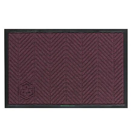 WaterHog Floor Mat, Eco Elite, 4' x 6', Maroon