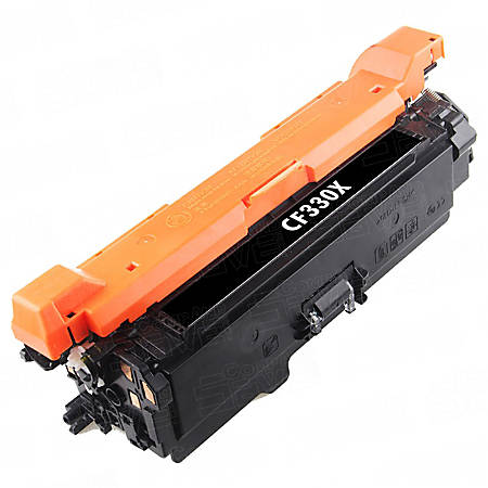 HP CF330X CMA (HP 654X) Remanufactured High-Yield Black Toner Cartridges, Pack Of 75 Cartridges