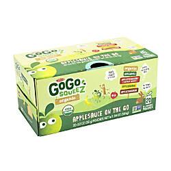 Materne GoGo Squeez Organic Applesauce On